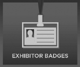 Exhibitor Badge Button