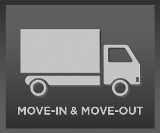 Move in and Move out Button