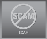 Scam Alert Button