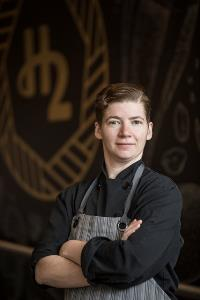 Restaurant Chef Caitlin Mark